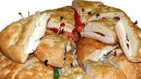 Italian-style sandwiches on house-made focaccia is a specialty