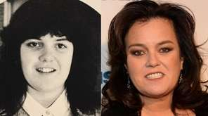 Commack South High School homecoming queen Rosie O'Donnell,