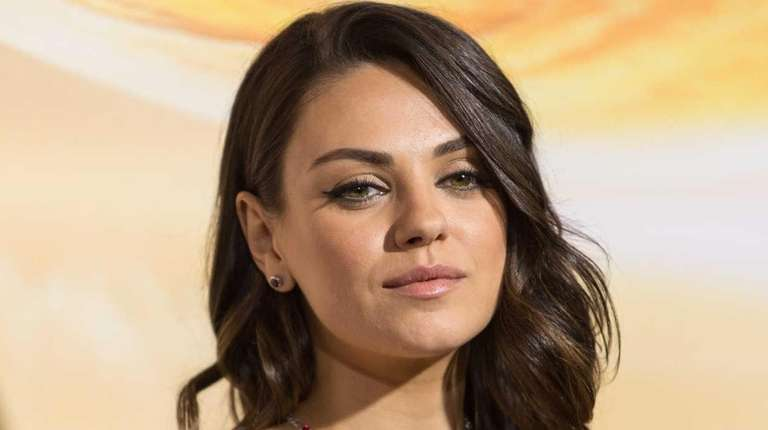 Mila Kunis attends the premiere of