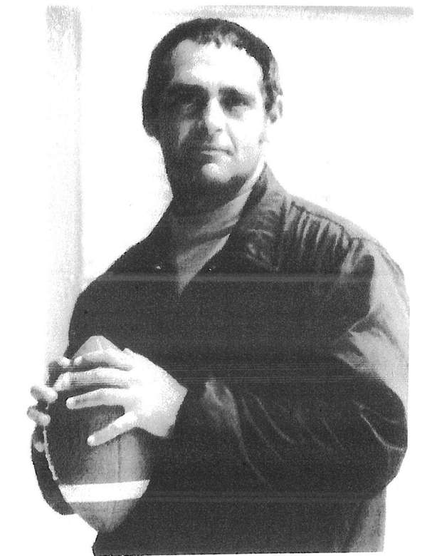 Tom DiNuovo, former football coach at Babylon High