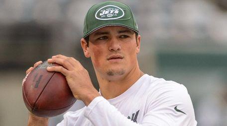 New York Jets quarterback Christian Hackenberg