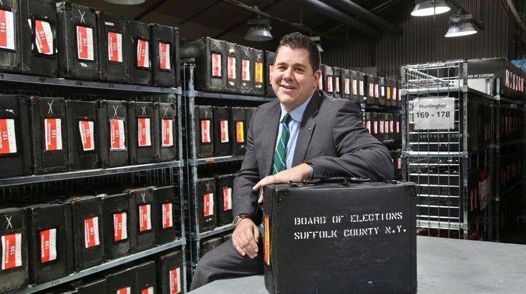 Nicholas LaLota, Commissioner of the Suffolk County Board