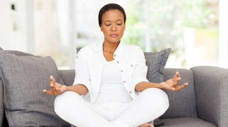 Meditation can help to restore personal balance when