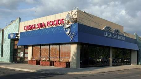 The exterior of Legal Sea Foods in the