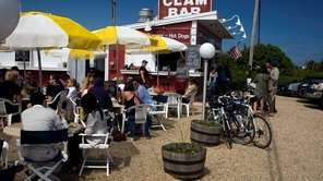 Celebrate the coming summer at the Clam Bar