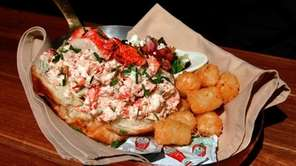 The lobster roll at Maroni Cuisine in Northport