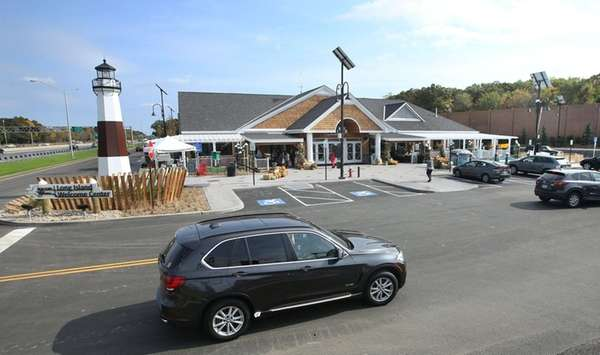 The Long Island Welcome Center on the eastbound