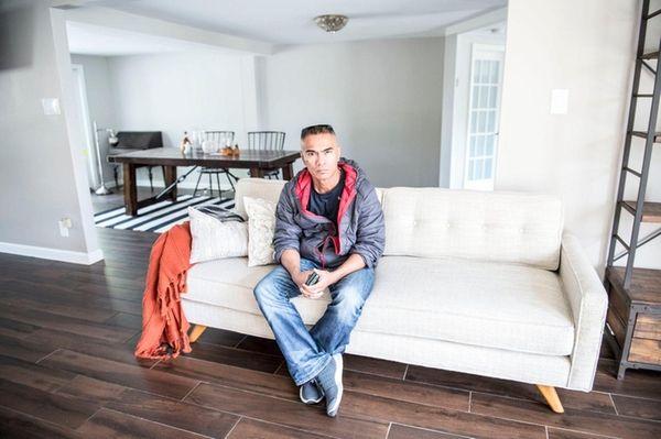 Vincent Domingo at his home in Massapequa, Oct.