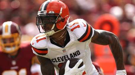 Wide receiver Terrelle Pryor #11 of the Cleveland
