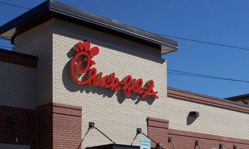 Georgia-based chicken chain Chick-fil-A, which has one Long