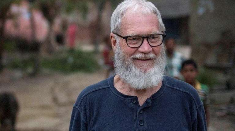 David Letterman travels to India where he explores