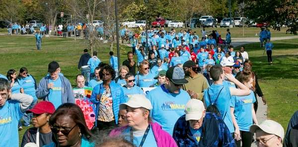 More than 1,200 people took part in the