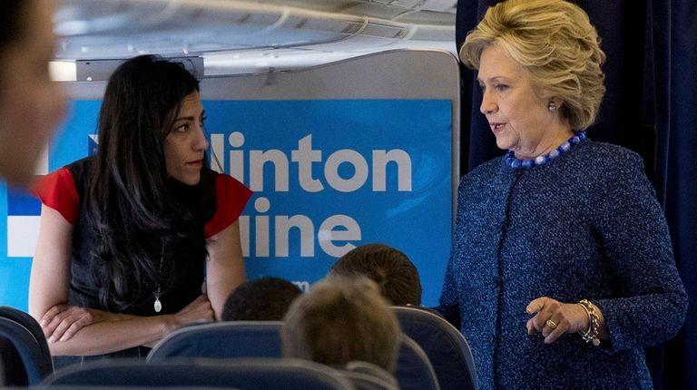 On Friday, Oct. 28, 2016, Hillary Clinton speaks