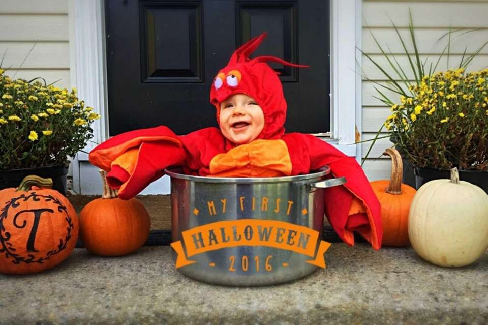 Timothy's First Halloween!