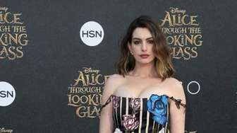 Actress Anne Hathaway attends the premiere of Disney's
