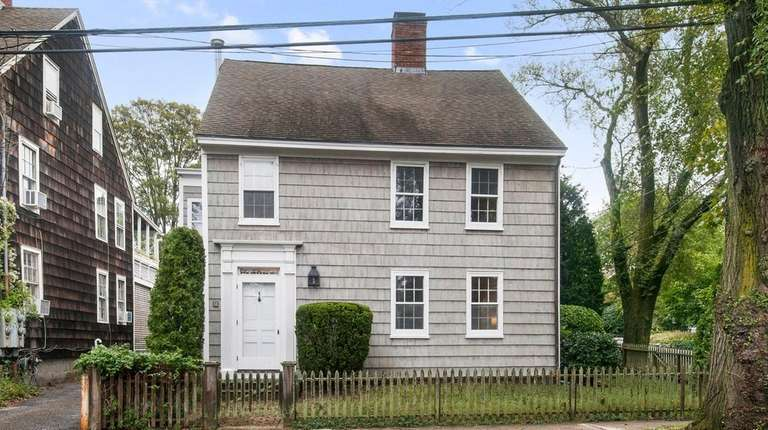 This Sag Harbor Village property, listed for $2.995