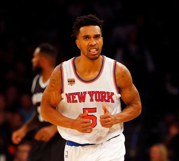Courtney Lee #5 of the New York Knicks