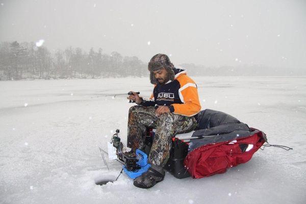 Where to go ice fishing on long island newsday for Freshwater fishing long island