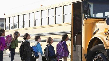 A school bus is seen in a file