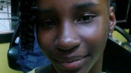 Ashley Goldson, 12, of Hempstead.