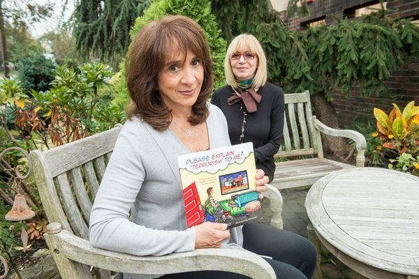 Author Laurie Zelinger, left, and illustrator Ann Israeli