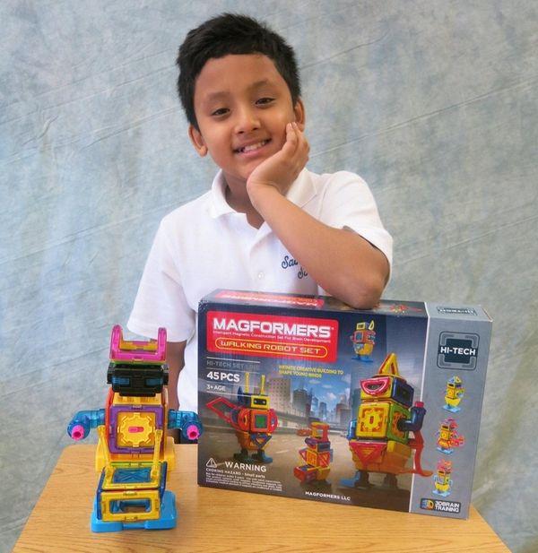Kidsday reporter Alok Pal says the Magformers set
