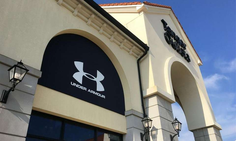 Under Armour opened an outlet at the Tanger