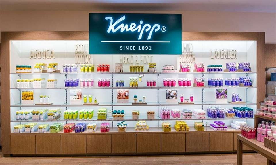 Kneipp, a German-based retailer specializing in body care