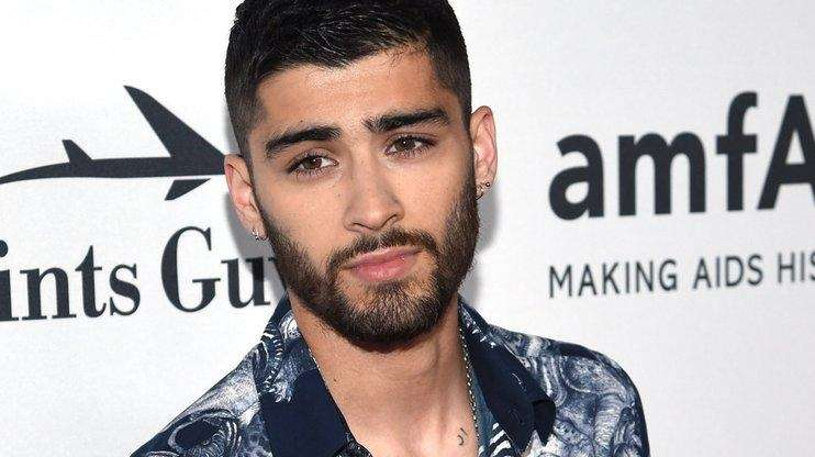 Zayn Malik attends a gala on June 9,