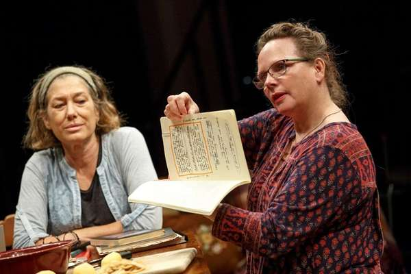 Meg Gibson and Maryann Plunkett in the second
