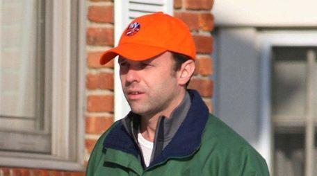 Thomas Hoey in Garden City in January 2009.