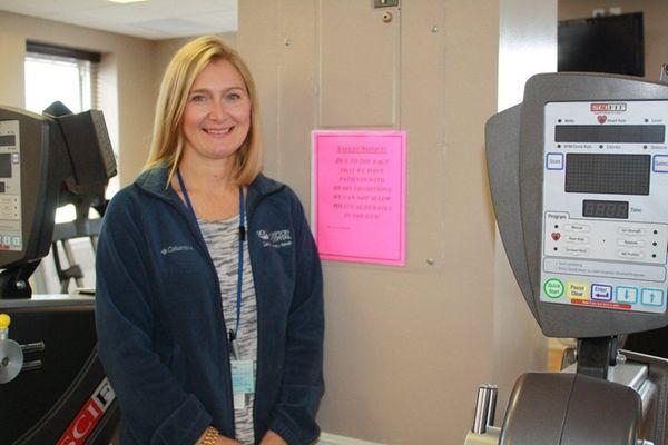 Jessica Swiatocha, manager of cardiopulmonary rehabilitation at Southampton