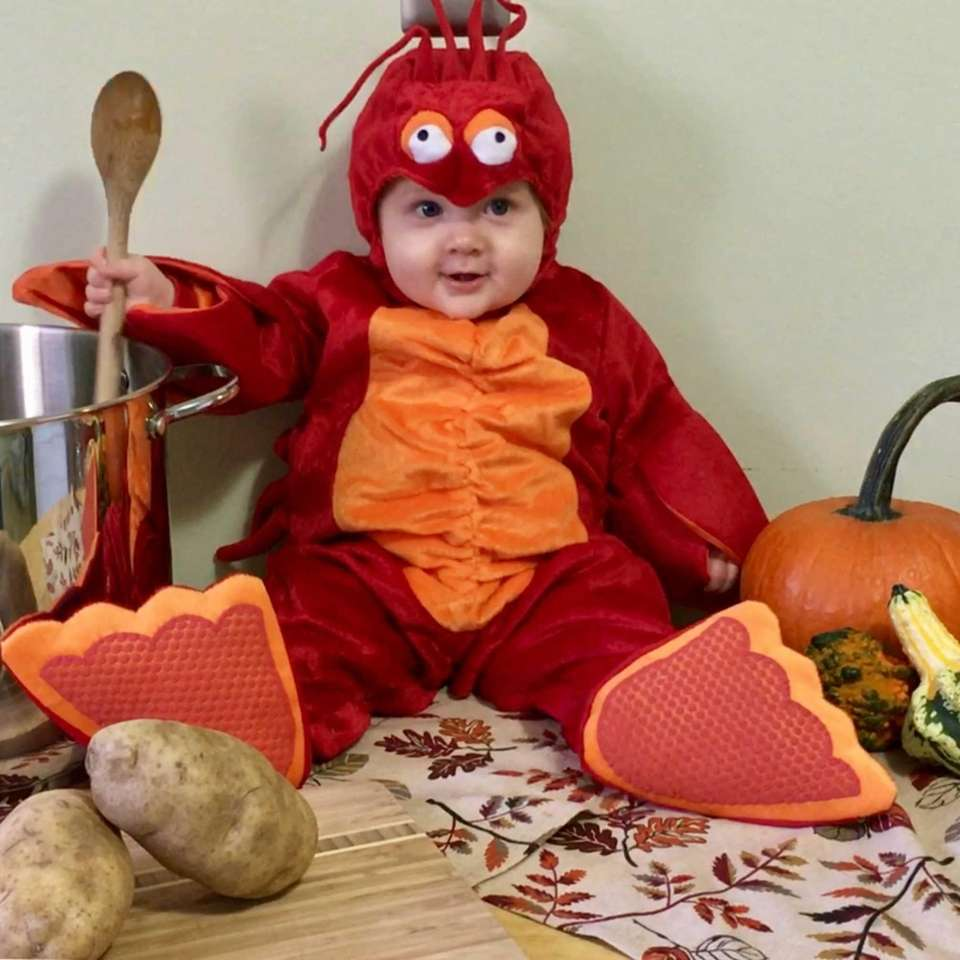 Our Lobster Special William Joseph Roddin (7 months)
