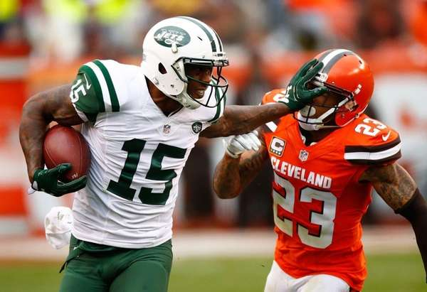 Brandon Marshall #15 of the New York Jets