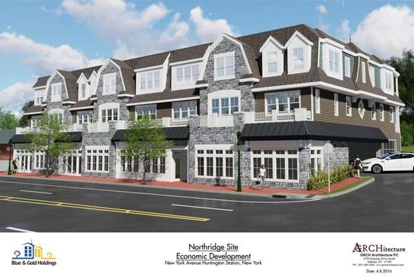 A rendering of the revitalization project on Northridge