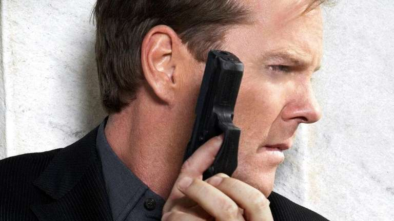 Kiefer Sutherland as Jack Bauer on