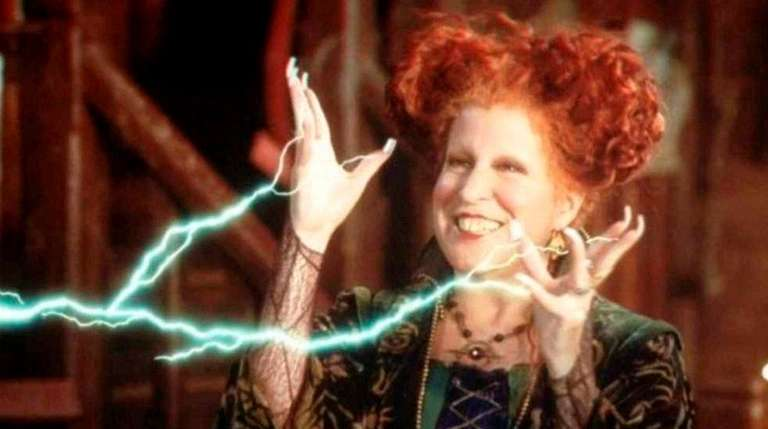Bette Midler creates sparks as a witch in