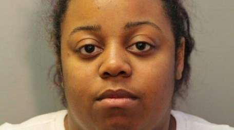 Sharonda Hall, 24, of Wyandanch, was charged with