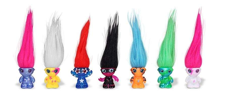 These blind-bag collectibles are based on WowWee's music-inspired