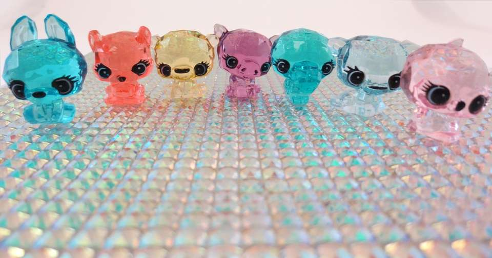 Collectable Crystal Surprise pets are adorable baby animals,