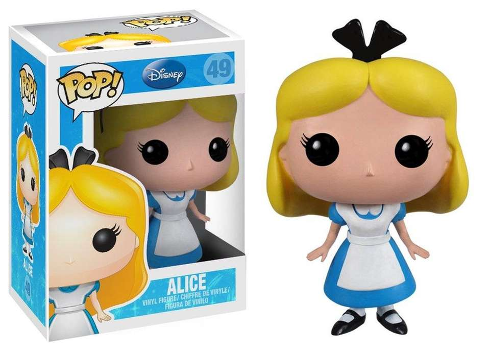 The Funko Pop! Vinyl line features big-headed collectible