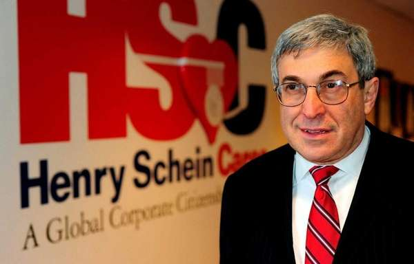 Stanley Bergman, CEO of Henry Schein Inc., the