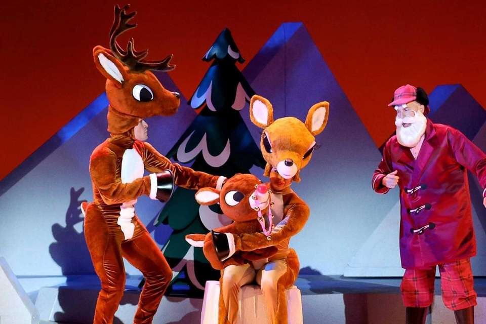 'RUDOLPH THE RED-NOSED REINDEER: THE MUSICAL'Based on the
