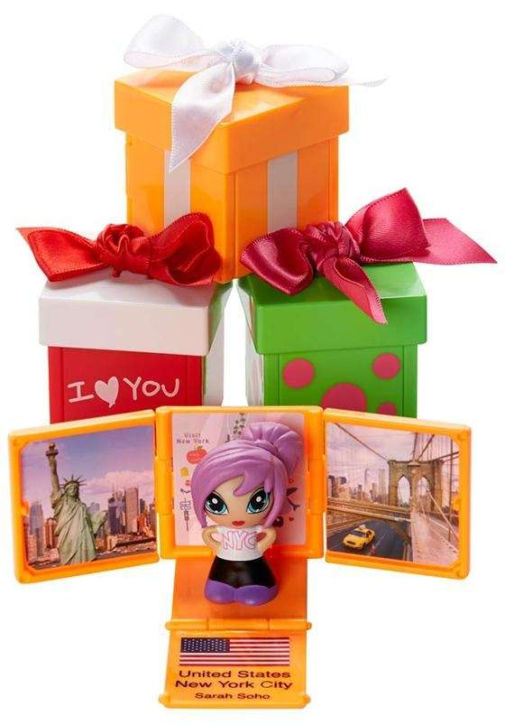 Gift 'ems are collectible mini dolls that feature