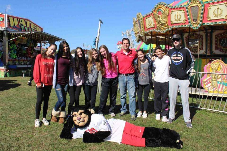 Syosset High School student government members are pictured