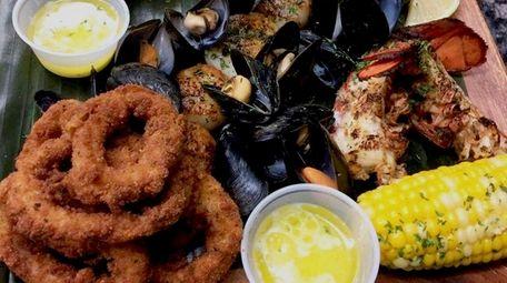 Red Snapper Seafood Kitchen serves fried, grilled, steamed