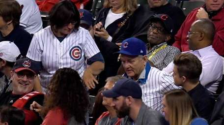 Actor Bill Murray attends Game Six of the