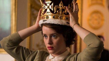 Claire Foy as Queen Elizabeth II in