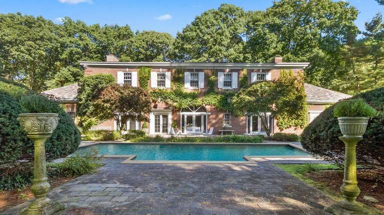 This circa-1917 Upper Brookville Colonial on 2 acres