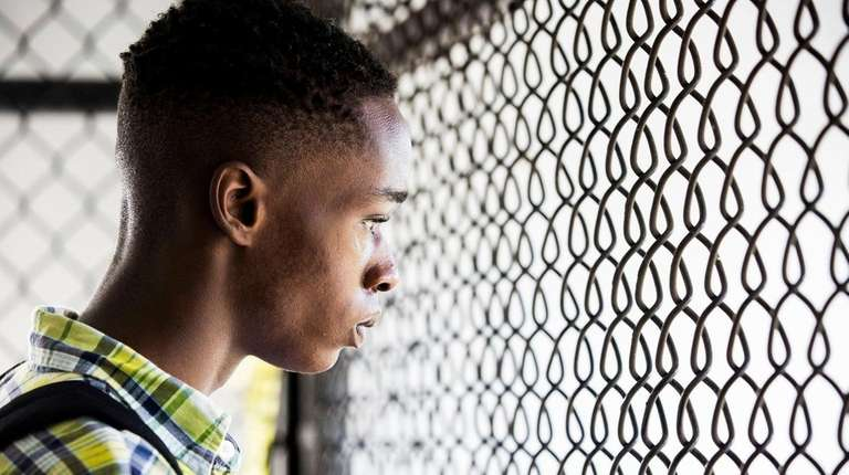 Ashton Sanders plays a self-protective teenager searching for